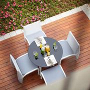 露台餐厅桌椅欣赏