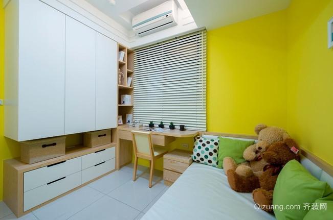时尚的现代都市风格儿童房设计装修图片大全