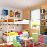 稚气的小型儿童房