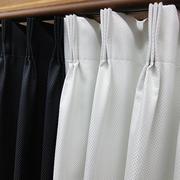 黑白相间的窗帘