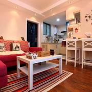 客厅小型的吧台