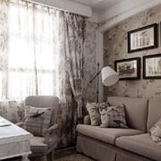 书房沙发背景墙装饰