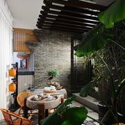 花园喝茶桌椅