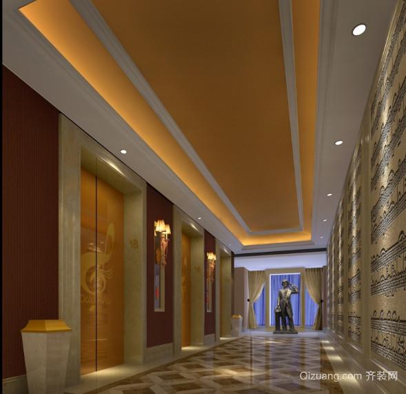 商务中心电梯装潢艺术设计效果图