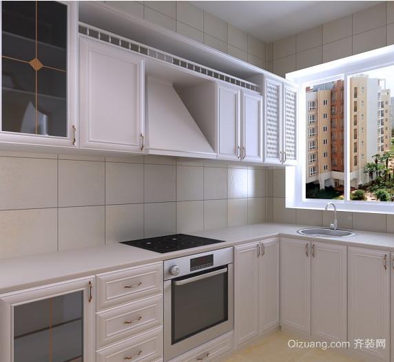 120平米经典实用厨房装修设计效果图