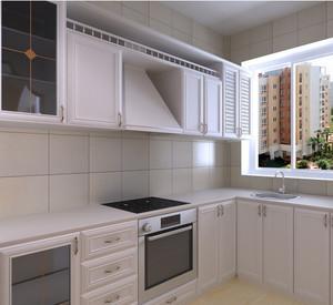 厨房白色橱柜
