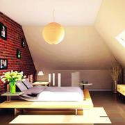 阁楼时尚的卧室