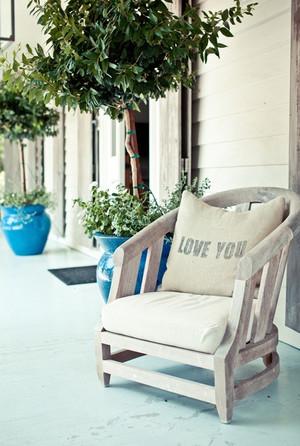 有资有色的混搭风格露台花园设计图片鉴赏