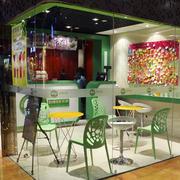 奶茶店餐桌椅欣赏
