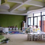 清新绿色幼儿园