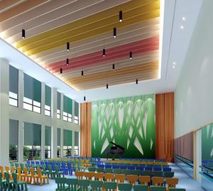 幼儿园彩色吊顶展示