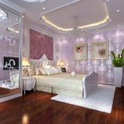 粉色可爱的卧室