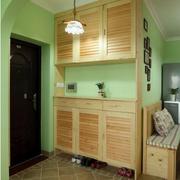 家居实木双层鞋柜