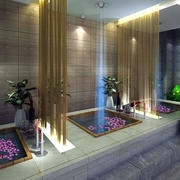 美容院温泉装潢