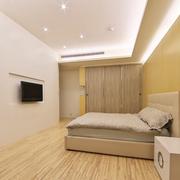 原木色的卧室展示