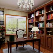 书房收纳书架展示