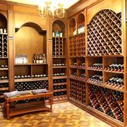 法式浪漫的酒架