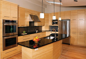 香味扑鼻而来开放式厨房装修设计效果图