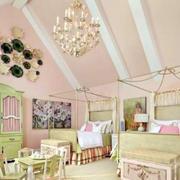 儿童房绿色家具