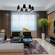 家装客厅转角舒适沙发