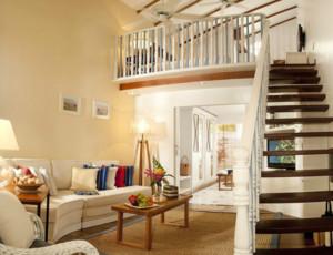150平米简欧风格复式楼楼梯扶手装修效果图
