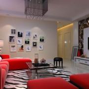家居客厅照片墙欣赏