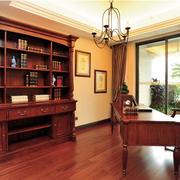 中式风格的书柜