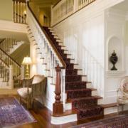 简欧式家居楼梯