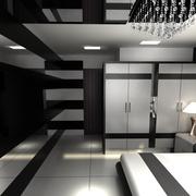 都市男士公寓卧室