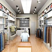 小户型的30平米服装店
