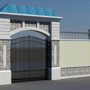 别墅人家围墙