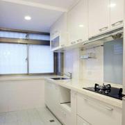 厨房白色干净装潢