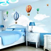 儿童房床头蓝天壁纸