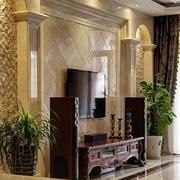 客厅瓷砖背景墙欣赏