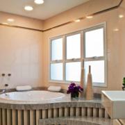 卧室现代舒适的卫生间