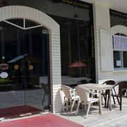 奶茶店露天餐桌椅