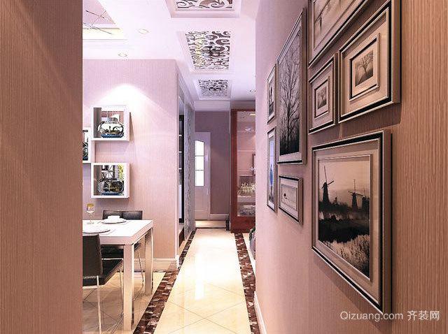 90平米现代日式客厅玄关装修效果图