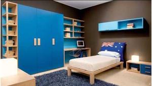 蓝色地中海风格家装设计装修效果图
