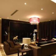 新中式客厅简约吊顶