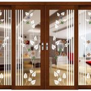 厨房艺术玻璃门