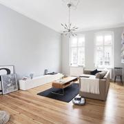 客厅实木地板欣赏