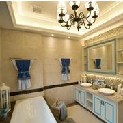 温馨时尚的卫生间设计