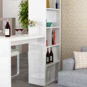 白色小型的吧台酒柜