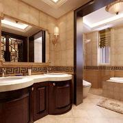 卫生间美式浴柜