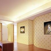 客厅墙面壁纸欣赏
