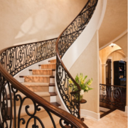 别墅精致大楼梯