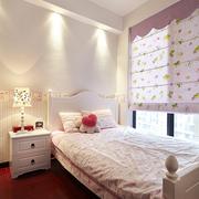 粉色的小户型儿童房