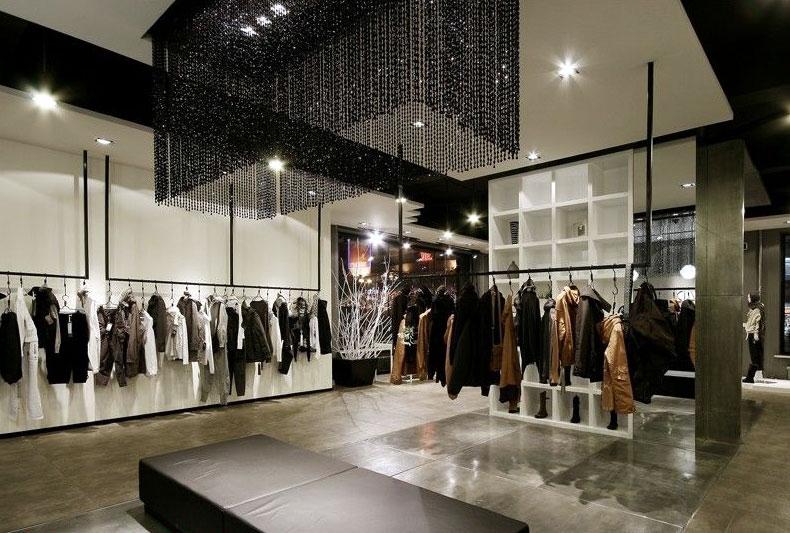 70平米时尚精品现代 服装店 装修效果图高清图片