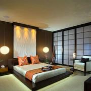 榻榻米中式卧室