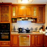 美式自然的厨房